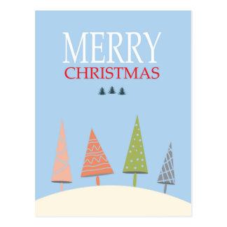 Cartão Postal Feliz Natal do vintage