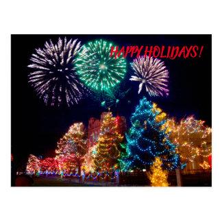 Cartão Postal Feliz Natal e boas festas
