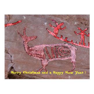 Cartão Postal Feliz Natal e um feliz ano novo!