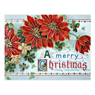 Cartão Postal Feliz Natal em 3D