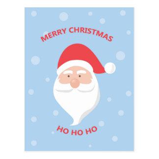 Cartão Postal Feliz Natal Papai Noel