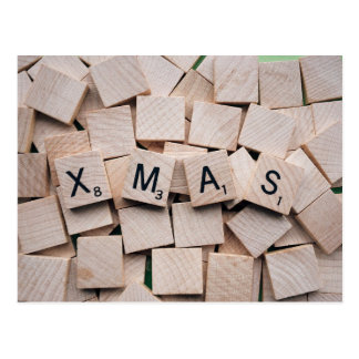 Cartão Postal Feliz Natal, Xmas