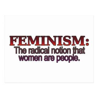 Cartão Postal Feminismo