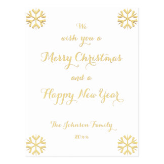 Cartão Postal Feriado feito sob encomenda do feliz ano novo do