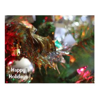 Cartão Postal Feriado feliz (cartões de Natal)
