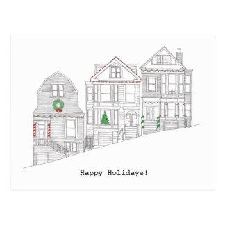Cartão Postal Feriado feliz de San Francisco