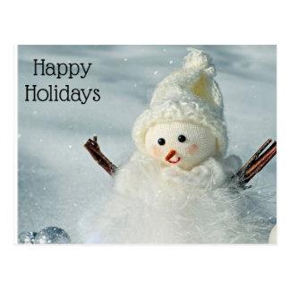 Cartão Postal feriados Cartão-felizes