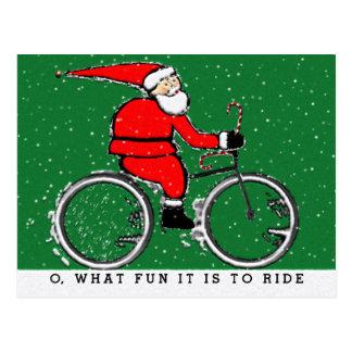 Cartão Postal Feriados do ciclista