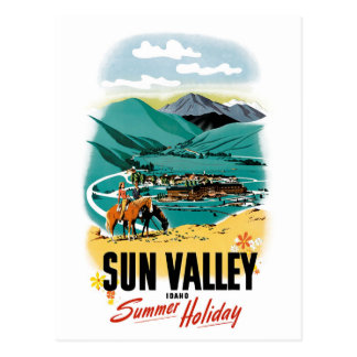 Cartão Postal Férias de verão de Sun Valley
