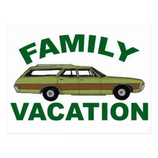 Cartão Postal férias em família 80s