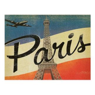 Cartão Postal férias retros do turismo das viagens vintage de