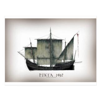 Cartão Postal Fernandes 1492 tony de Pinta