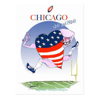 Cartão Postal Fernandes tony altos e orgulhosos de Chicago,