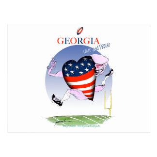 Cartão Postal fernandes tony altos e orgulhosos de Geórgia,