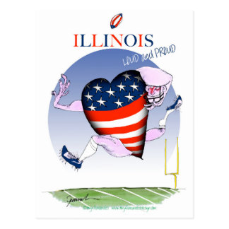 Cartão Postal fernandes tony altos e orgulhosos de illinois,