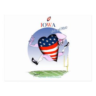 Cartão Postal fernandes tony altos e orgulhosos de iowa,