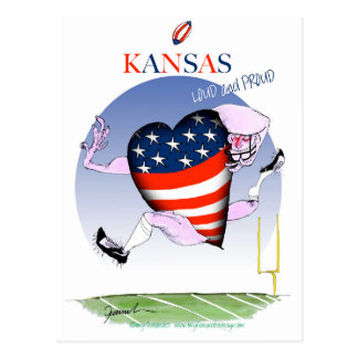 Cartão Postal fernandes tony altos e orgulhosos de kansas,