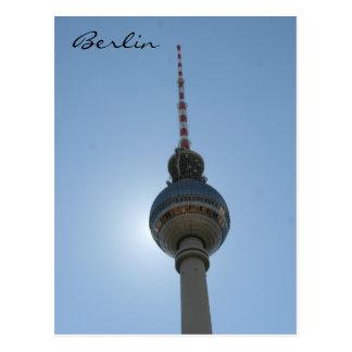 Cartão Postal fernsehturm Berlim