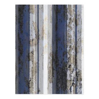 Cartão Postal Ferro de folha oxidado