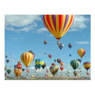 Cartão Postal Festa Albuquerque do balão