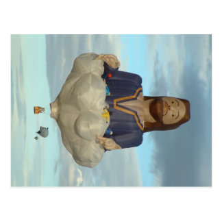 Cartão Postal Festa Albuquerque Jesus do balão o senhor