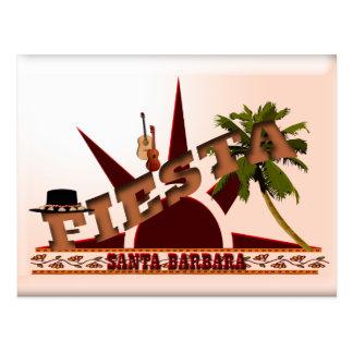 Cartão Postal Festa de Santa Barbara
