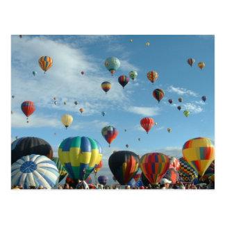 Cartão Postal Festa do balão