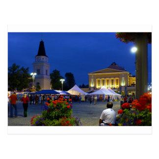 Cartão Postal Festival da cidade