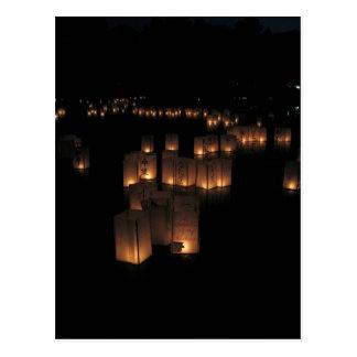 Cartão Postal Festival de lanterna