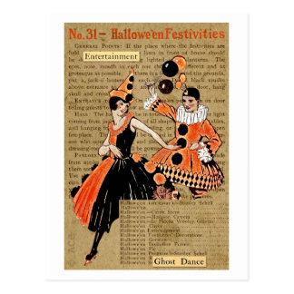 Cartão Postal Festividades do Dia das Bruxas