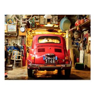Cartão Postal Fiat 500, Cinquecento em Italia