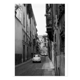 Cartão Postal Fiat Cinquecento em Verona