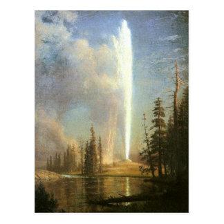Cartão Postal Fiel velho, Albert Bierstadt