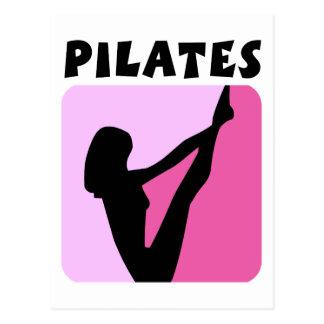 Cartão Postal Figura design de Pilates!
