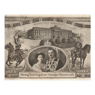 Cartão Postal FILHA Kaiser Wilhelm do casamento de Alemanha
