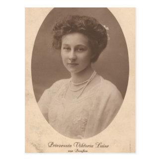 Cartão Postal FILHA Kaiser Wilhelm Ii de Alemanha #044D