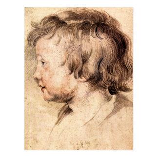 Cartão Postal Filho Albert por Paul Rubens
