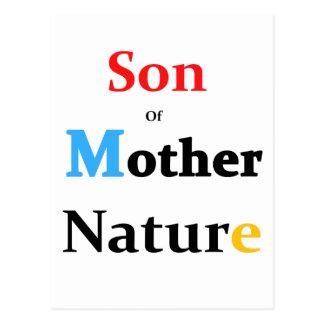 Cartão Postal Filho da mãe Natureza