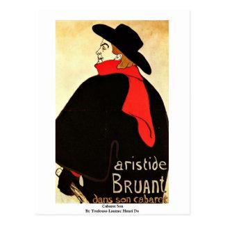Cartão Postal Filho da taberna por Toulouse-Lautrec Henri De