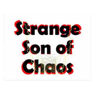Cartão Postal Filho estranho do caos