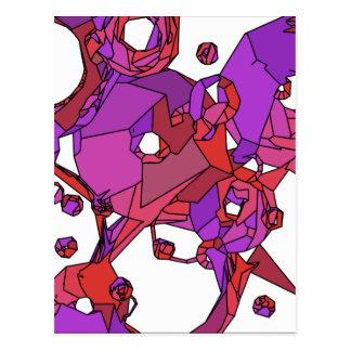 Cartão Postal Filhóses cor-de-rosa
