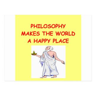 Cartão Postal filosofia