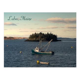 Cartão Postal Fim da tarde em Lubec, Maine
