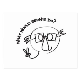 Cartão Postal Final de Bernie Anna