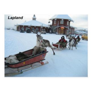 Cartão Postal Finlandia-papai noel--[kan.k]--jpg
