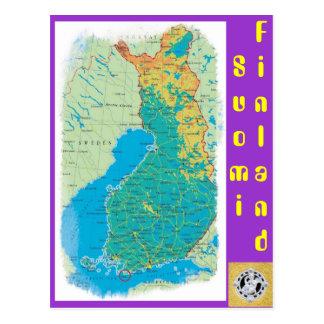 Cartão Postal Finlandia, Suomi
