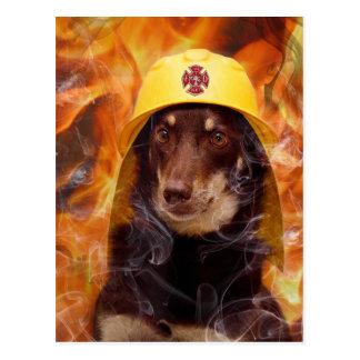 Cartão Postal Firedog