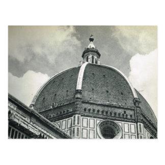 Cartão Postal Firenze, Florença, domo