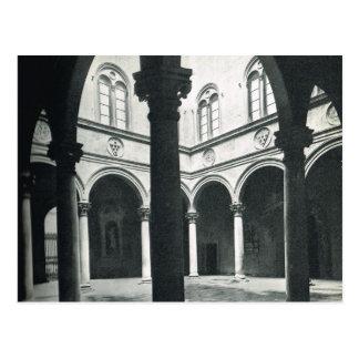 Cartão Postal Firenze, Florença, Palazzo Medici Riccardi