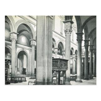Cartão Postal Firenze, Florença, S. interno Lorenzo